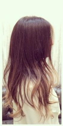 beachy brunette highlights