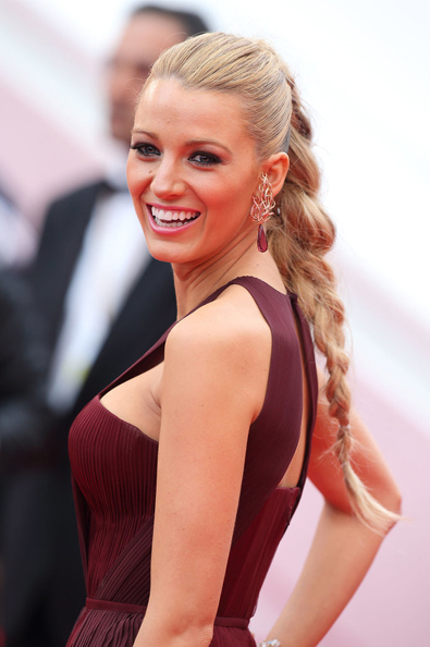 Blake Lively Hair Grace of Monaco Premiere Cannes 2014