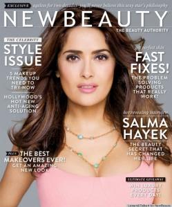 NewBeauty Magazine Salma Hayek