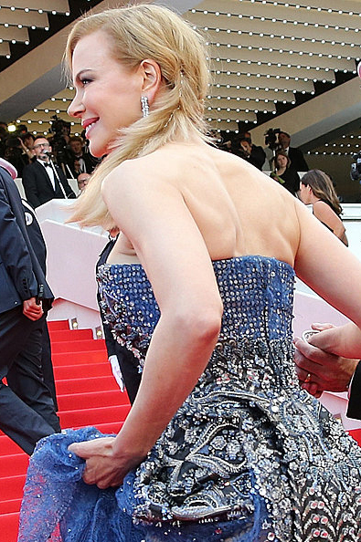 Nicole Kidman Hair Grace of Monaco Premiere Cannes 2014