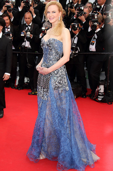 Nicole Kidman Hair Grace of Monaco Premiere Cannes Film Festival
