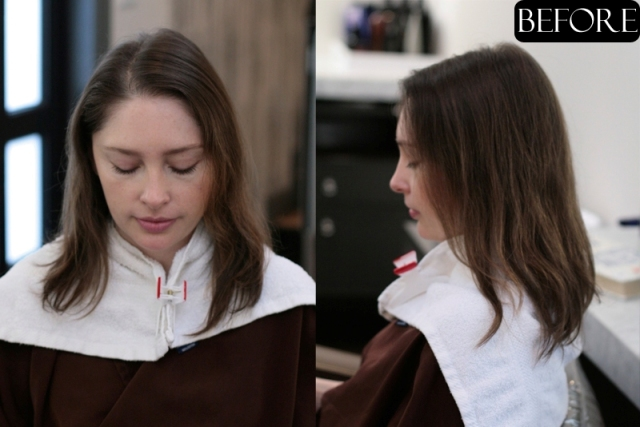 Hair Makeover : hair makeover before and after