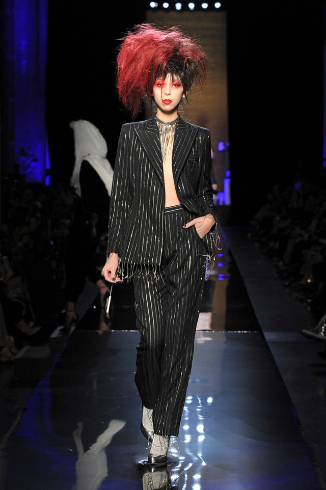 jean-paul-gaultier-couture-fall-2014 big hair