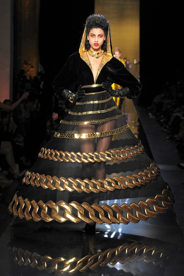 jean paul gaultier couture fall 2014 dress