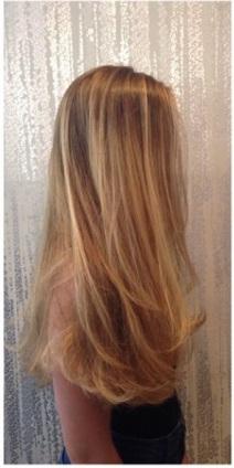natural golden blonde highlights