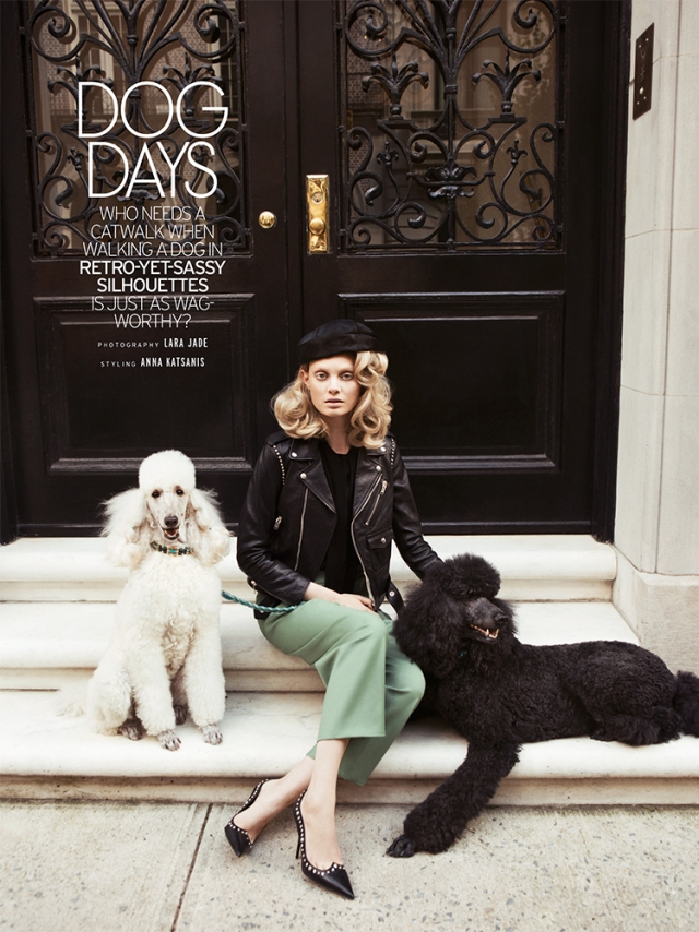 dog days editorial elle august 2014