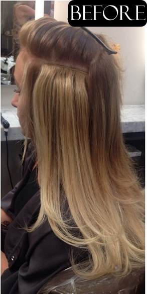 Beauty secret hair lingerie jonathan george hair extensions before and after pmusecretfo Images