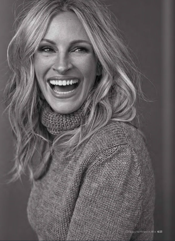Julia Roberts – InStyle September Issue 2014 | JONATHAN & GEORGE