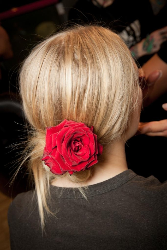 hair accessories - dolce and gabbana spring 2015