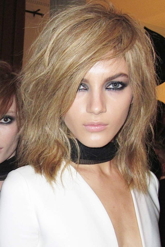 london fashion week spring 2015 hair trends