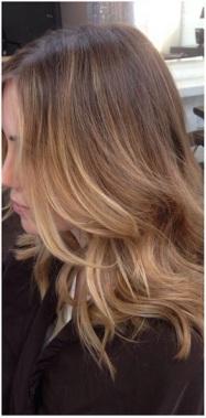 natural dark blonde highlights