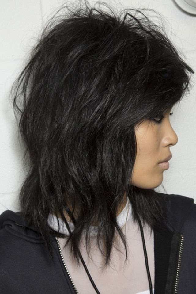 rocker chic hair