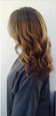 before and after hair color blog