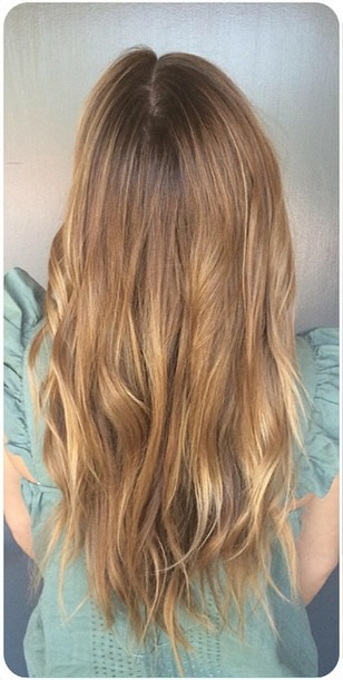light golden brown highlights