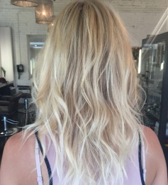 soft baby blonde hair color