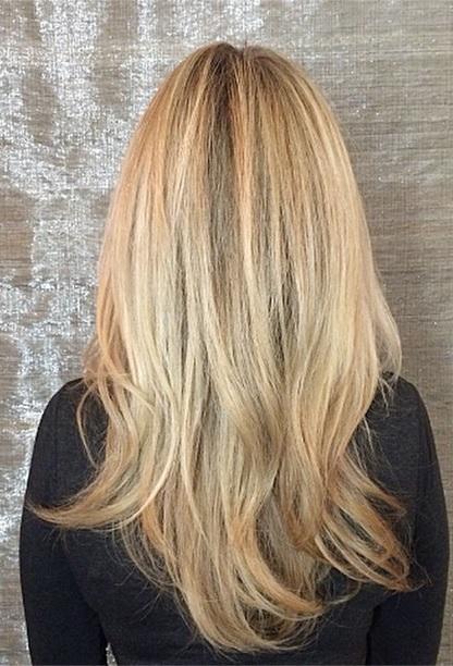 blonde highlights 2015