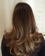 brunette hair color idea