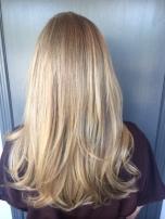 Winter Blonde hair color