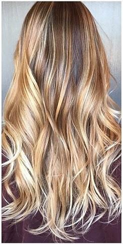 dark blonde highlights 2015
