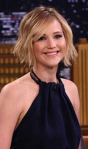 jennifer lawrence bob hairstyle 2014