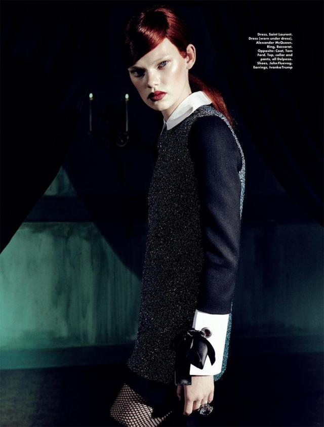 red hair - elle malaysia 2014 editorial