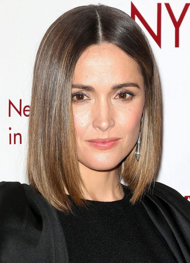 rose byrne long bob hairstyle