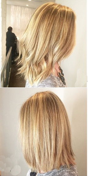 blonde balayage highlights 2015
