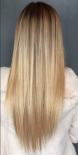 blonde hair color chart