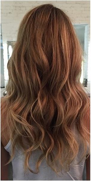 dark blonde highlights