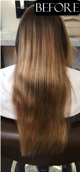 hair color makeovers before and after photos