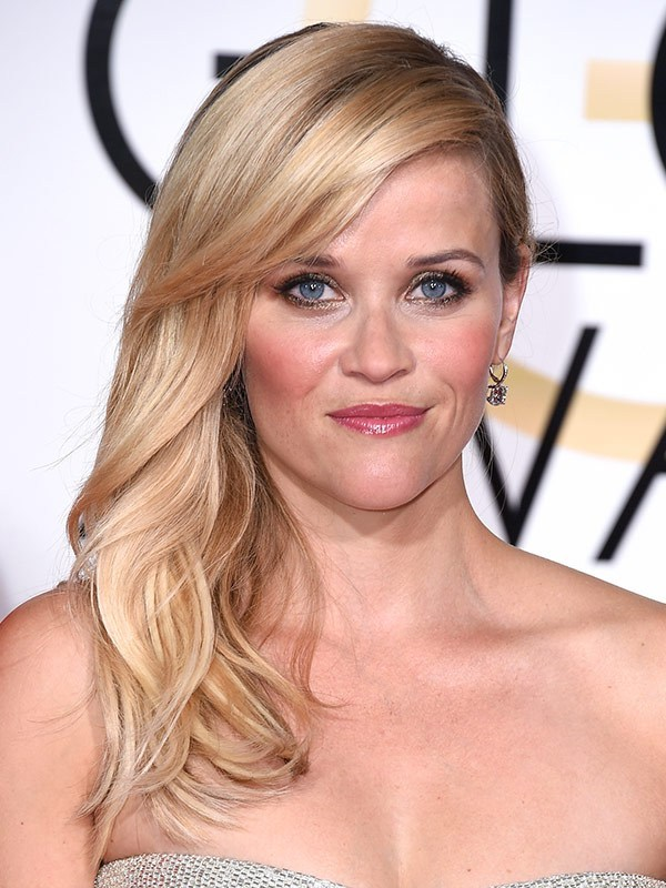 reese witherspoon golden globes hair images