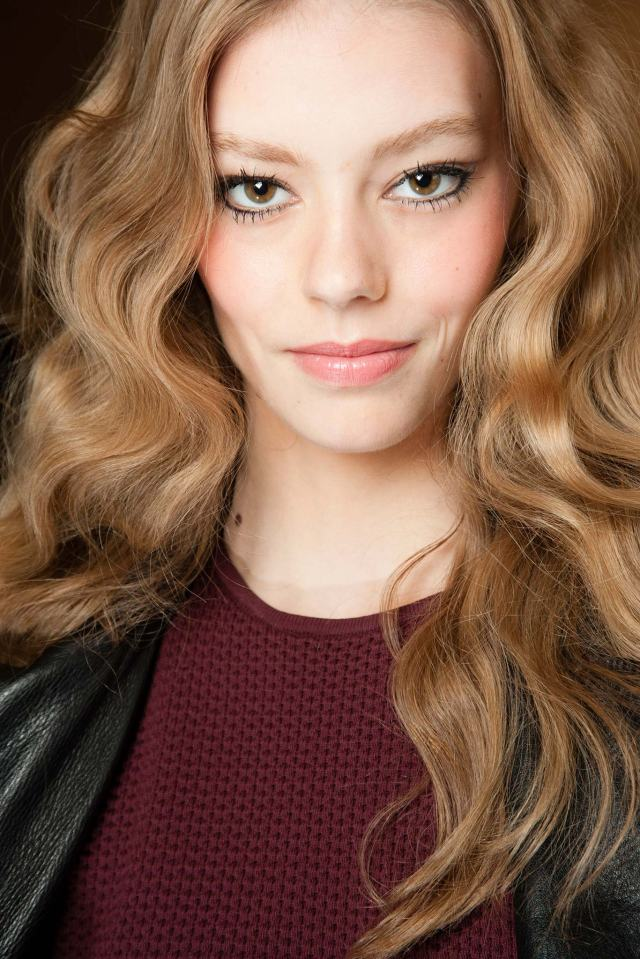 wavy hairstyles - spring 2015 hair trends