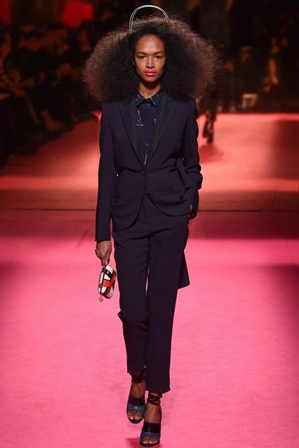 big hair - schiaparelli spring 2015 couture