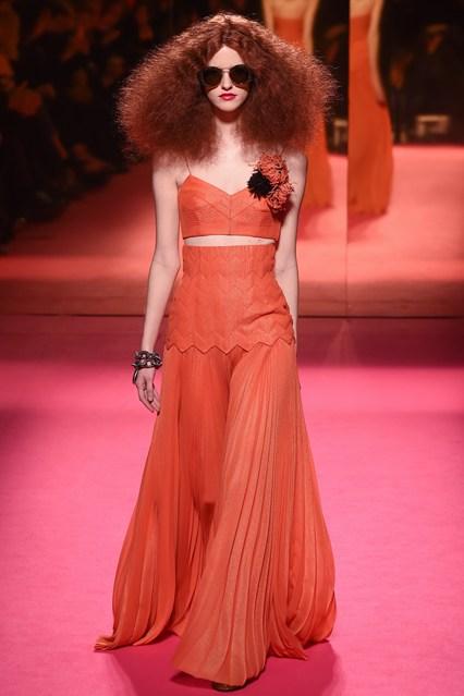 big hair trends - schiaparelli spring 2015 couture
