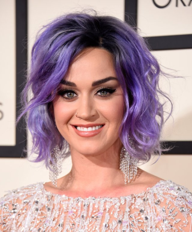 katy-perry hair grammys-2015-grammy-awards