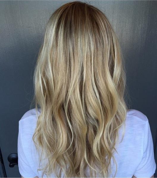 winter blonde highlights