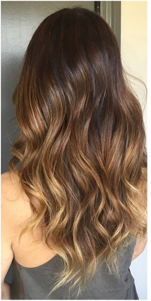 brunette highlights 2015