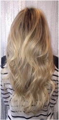 butter blonde hair color