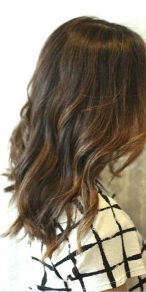 dark brunette hair color ideas