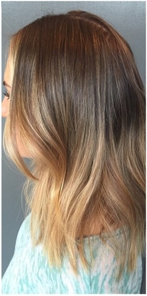 seamless bronde hair color