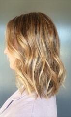 honey gold blonde hair