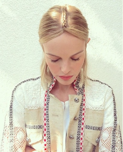 kate bosworth coachella 2015 hair