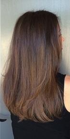 low maintenance brunette highlights hair blog