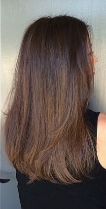 low maintenance brunette highlights hair blog