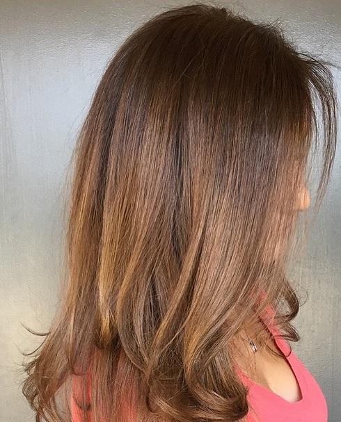 summer brunette hair color