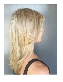 blonde baby highlights