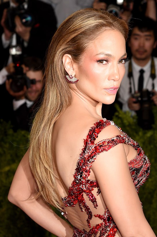 jennifer lopez hair met gala 2015
