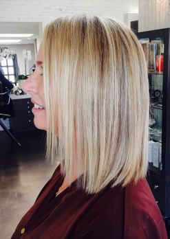 light blonde highlights