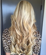 blonde highlights hair color 2015