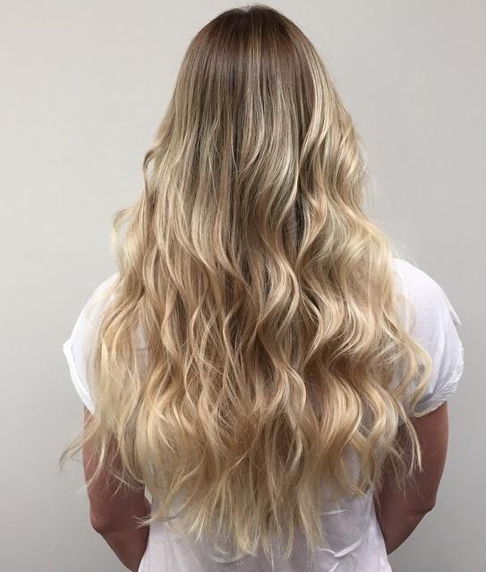 Long Hair Blonde Highlights Jonathan George